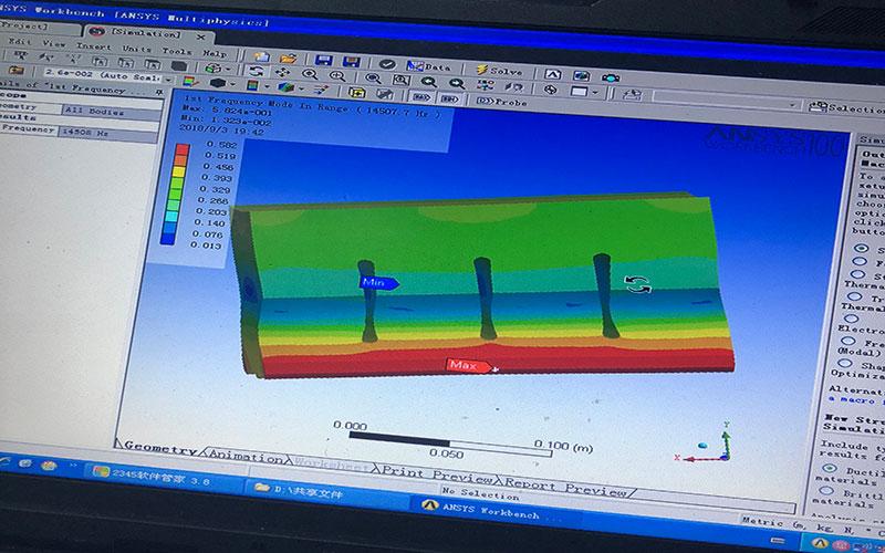 超声波模具电脑模拟分析